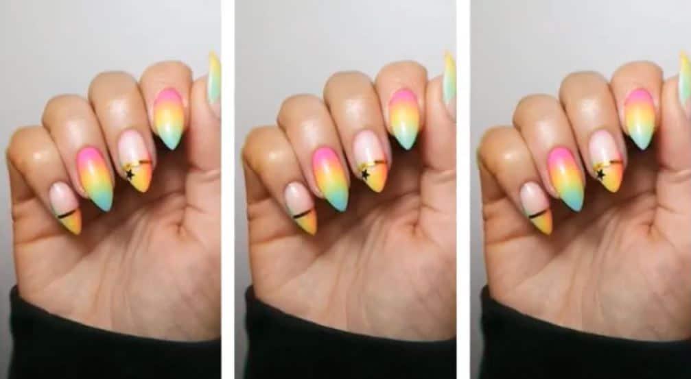 Beautiful Rainbow Ombre by Joanne