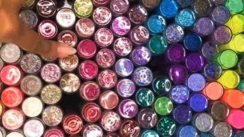 Loose glitter hacks, Tin foil